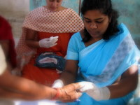 Indian Healthcare Worker